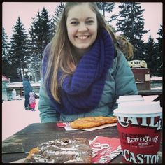 BeaverTails pastries and hot chocolate - Bringing the smiles since 1978 :) Instagram photo by @garnetvp (garnetvp)