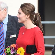 Shhh...There's an Easy Trick to Getting the Elegant Ponytail Kate Middleton Just Wore