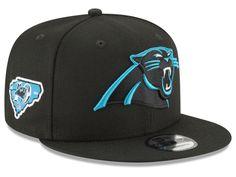 Carolina Panthers New Era NFL Anniversary Patch 9FIFTY Snapback Cap Gorras  Snapback fb5f7a0655a