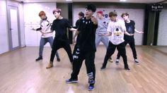 """See BTS Unedited in a Dance Practice Video for """"Boy In Luv"""""""