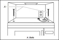 Installing a vented microwave over your range or oven