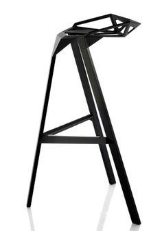 Magis - Stool One Barhocker Höhe: 67 cm Metal Furniture, Kitchen Furniture, Furniture Design, Woodworking Furniture, Outdoor Kitchen Bars, Outdoor Kitchen Design, Outdoor Kitchens, Garde Corps Design, Chair One