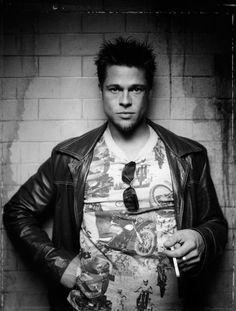 Brad Pitt durante el