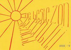 #quote #sun #poppyred #handlettering #spreuk #zon #lente