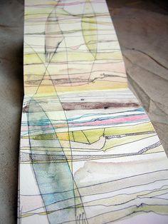 moleskin sketches by Alyn Carlson http://colorgirlalyn.blogspot.com/ http://www.alyncarlson.com/ #art #drawings #paintings