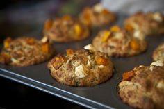 Feta-dýňové muffiny