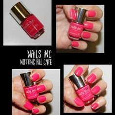 MichelaIsMyName: NOTD // NAILS INC Notting Hill Gate
