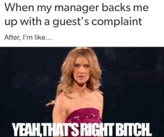   Hotel   Hotels   Hospitality   Customer Service   Guest Services   Front Desk   Guests   Complaints   Memes   Sarcasm   Joking   Humor   Funny   Hilarious   Work   Job   Crazy Guests   Night Auditor   Night Audit   Housekeeping   Valet   F&B   Food & Beverage   Guest Service   Guest Services   Hoteliers   eCards    If you are the genius / wise guy behind any of these funnies please let me know (with image description) so I can properly credit!