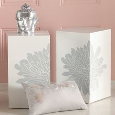 Chrysanthemum Side Table contemporary side tables and accent tables