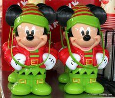 Elf Mickey Souvenir Popcorn Bucket