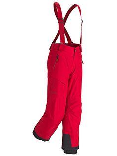 Marmot Junior Edge Insulated Pants (M, Team Red)