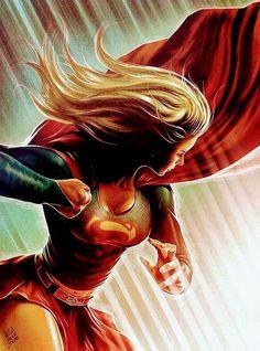 Drawing Superhero Supergirl by cdelafuente on - Dc Comics Art, Comics Girls, Marvel Dc Comics, Superman, Supergirl Comic, Supergirl 2015, Univers Dc, Female Hero, Dc Characters