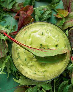 Dip it: Rezept für Green-Goddess-Sauce