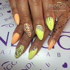 Veni Vidi Peachy Gel Brush | Indigo Nails Indigo Nails, 5 Ml, Polish, Nail Art, Swarovski, How To Make, Summer, Vitreous Enamel, Summer Time