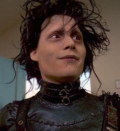 Edward Scissorhands.  Johnny Depp.  Tim Burton.