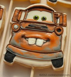 Tow Mater Cookie