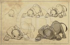 The Art of Aaron Blaise || CHARACTER DESIGN REFERENCES | Find more at https://www.facebook.com/CharacterDesignReferences if you're looking for: #line #art #character #design #model #sheet #illustration #best #concept #animation #drawing #archive #library #reference #anatomy #traditional #draw #development #artist #how #to #tutorial #conceptart #modelsheet #animal #animals