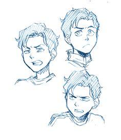 SHAZAM! Drawing Base, Manga Drawing, Drawing Sketches, Art Drawings, Drawing Cartoon Faces, Cartoon Art, Character Drawing, Character Design, Drawing Expressions