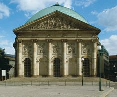 Berlin's Top 10 : Churches & Synagogues - St Hedwigskathedrale    Berlin's largest Catholic church was commissioned by Frederick the Great in 1747–73 after his conquest of Silesia .