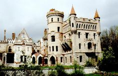 Not many people think of a sleepy Russian countryside as a place for gothic-styled castles, but here they are - proud, beautiful, one-of-a-kind architectural gems, unjustly forgotten and sadly abandoned....
