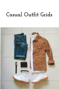 Casual outfit grids for men #mens #fashion #style - clothing, yoga, pink, hipster, pink, for girls clothes *ad