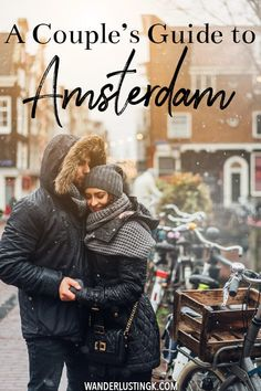 A Couple's Guide to Amsterdam: 30 Romantic things to do in Amsterdam - Planning a romantic couple's trip to Amsterdam? Your guide to the most romantic things to do in Amsterdam written by a former resident! Perfect for date nights in Amsterdam! Romantic Destinations, Romantic Vacations, Romantic Getaways, Romantic Travel, Travel Destinations, Romantic Things To Do, Romantic Couples, Most Romantic, Glamping