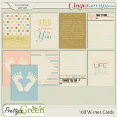 """Wishes"""" pocket scrapbooking Cards Pocket Scrapbooking, Scrapbook Cards, Digital Scrapbooking, Baby Journal, Journal Cards, True Stories, Wish, The 100, Bullet Journal"""