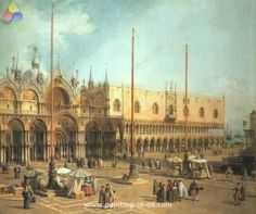 Piazza san marco looking southeast 1735 40 xx the national washington