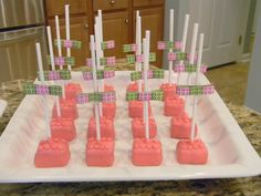 "To continue the run on the Lego Birthday Party, I am sharing the ""How To"" on the Lego Truffles.  If you missed it, you can check out the Pa..."