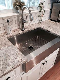 9 best stainless farmhouse sink images home kitchens dinner room rh pinterest com
