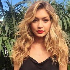 "Rock beachy waves like Gigi Hadid in Calvin Harris's ""How Deep Is Your Love"" music video this holiday season."