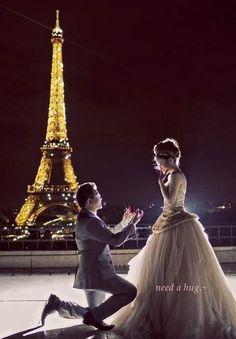 Paris, the eternal city of love.