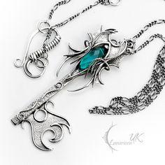 OXARTNAR - Silver and Blue Quartz. by LUNARIEEN.deviantart.com on @DeviantArt