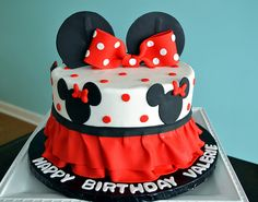 Minnie+Mouse+Cake
