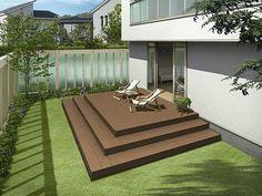 Deck, Terrace, Contemporary, Outdoor Decor, Garden, House, Patio Ideas, Home Decor, Wooden Terrace
