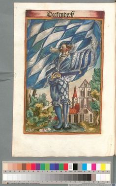 Colour Plate: German State Banners: