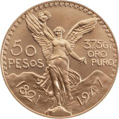 Familia del Centenario, oro, Banco de México Mexican Peso, Gold Money, Gold And Silver Coins, Centenario, World Coins, Vintage Tins, Rare Coins, Elder Scrolls, Coin Collecting