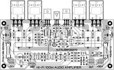 200w subwoofer amplifier circuit amplifier circuits. Black Bedroom Furniture Sets. Home Design Ideas