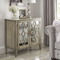 Sanna 2 Door Accent Cabinet & Reviews | Joss & Main