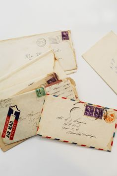 old letters...