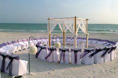 Decofilia Blog   Bodas de playa: De la arena al altar