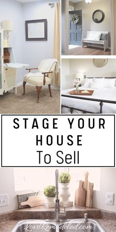 home decor tips Staging a house is so important to getting a quick sale - for the best price possible. Check out these staging tips so that you can sell your home now! Sell Your House Fast, Selling Your House, Up House, House Made, Cheap Home Decor, Diy Home Decor, Bathroom Staging, Kitchen Staging, Spa Bathroom Decor