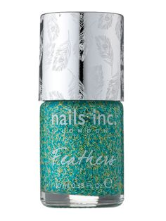 Peacock Feather texture nails?! Need!