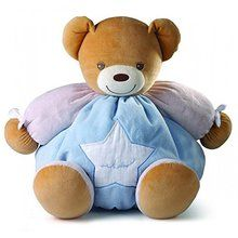 Kaloo Plume Maxi Bear, Blue. Available at OurPamperedHome.com