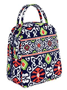 Your Lunch Bunch | Vera Bradley @ THESHOPPINGCENTERPLAZA.com! HAPPY SHOPPING! Love this pattern!!