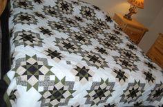 Antler Quilt Designs - Sparker pattern, king size