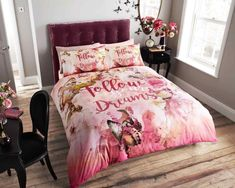 Item Specifications New luxury printed butterfly dreams poly cotton duvet quilt cover bedding set with pillow cases Material polyester cotton Absolutely machine washable Approximate sizes Double : with 2 pillowcases King : with 2 pillowcases Luxury Duvet Covers, Luxury Bedding Sets, Bed Duvet Covers, Duvet Cover Sets, Unique Bedding, Queen Bedding Sets, Pink Bedding, White Bedding, Comforter Sets