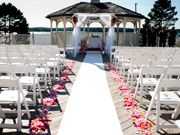 Spruce Point Inn Oceanfront Deck- this is our ceremony location!!
