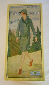 1932 The New De Luxe Sportster - Girl Scout Shoe Box Only | eBay