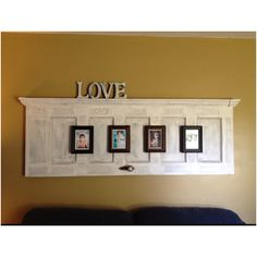 This is another cute idea to do with an old door!!!